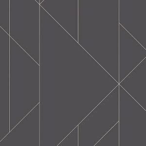 2889-25204 Torpa Geometric Charcoal Brewster Wallpaper