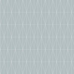 2889-25211 Tofta Geometric Light Blue Brewster Wallpaper
