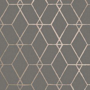 2889-25252 Osterlen Trellis Taupe Brewster Wallpaper