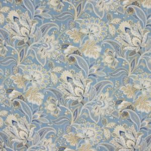 PROSPECT ROAD Porcelain Blue Carole Fabric