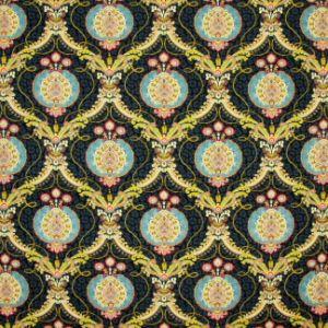 TRIPLE CROWN Noir Carole Fabric