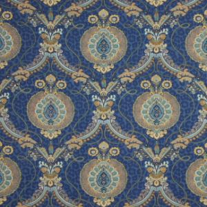 TRIPLE CROWN Prussian Carole Fabric