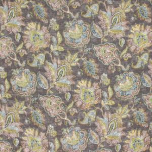 VINTAGE TOUCH Chocolate Carole Fabric