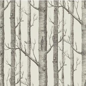 2009142-18 WOODS PRINT Graphite Lee Jofa Fabric