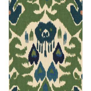 2012144-350 MARCO POLO Green Navy Lee Jofa Fabric