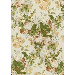 2015136-630 MAISIE LINEN Tan Leaf Lee Jofa Fabric