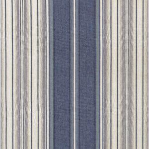 BFC-3659-505 WINDSOR STRIPE Blue Silver Lee Jofa Fabric