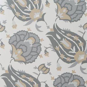 GWP-3400-116 TURKISH FLOWER Dove Stone Groundworks Wallpaper