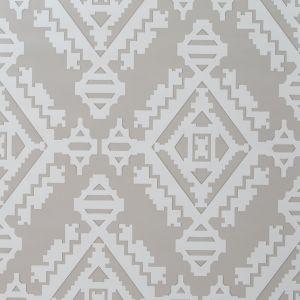 GWP-3407-11 NAVAJO Dove Grey Groundworks Wallpaper