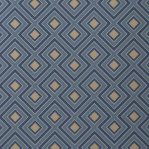 GWP-3406-545 LA FIORENTINA SMALL Teal Groundworks Wallpaper