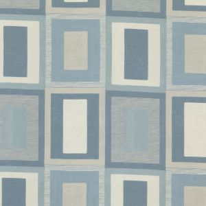 ED75026-1 MORO Blue Threads Fabric