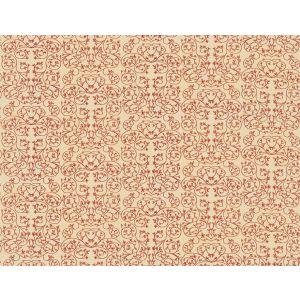 GWF-3511-7 GARDEN Cerise Groundworks Fabric
