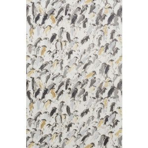 GWP-3412-116 FINCHES Neutral Ivory Groundworks Wallpaper