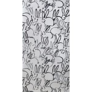 GWP-3413-11 HUTCH Silver Groundworks Wallpaper