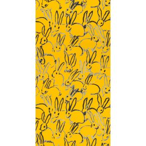 GWP-3413-14 HUTCH Yellow Groundworks Wallpaper