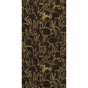 GWP-3713-84 HULA Black Groundworks Wallpaper