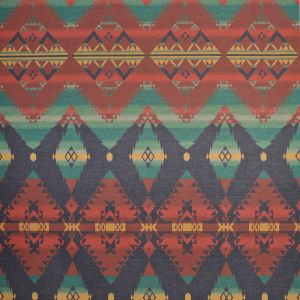 LCF66765F CROW WARRIOR BLANKET Saranac Ralph Lauren Fabric