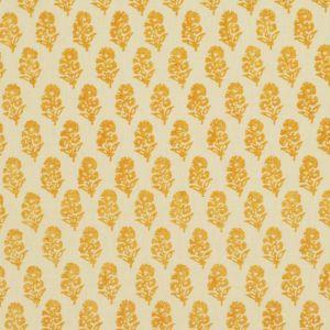 LCF68371F ALLIE BLOCKPRINT Goldenrod Ralph Lauren Fabric