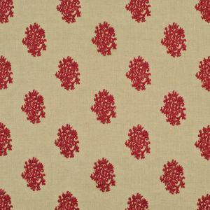 LCF68386F DELPHINE EMBROIDERY Cinnabar Ralph Lauren Fabric