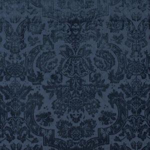 LFY29516F GRANTHAM VELVET DAMA Navy Ralph Lauren Fabric