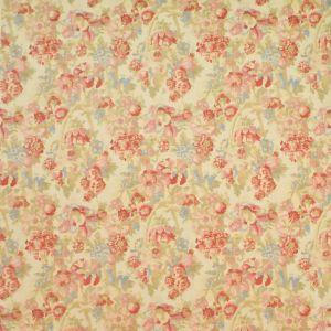 LFY50104F GARDINER'S BAY FLORA Vintage Linen Ralph Lauren Fabric