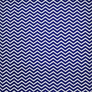 LFY66676F CHERBOURG CHEVRON Cobalt Ralph Lauren Fabric