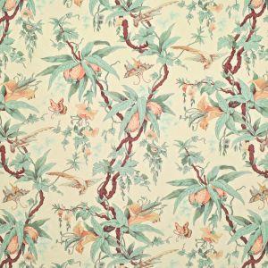 LFY68472F MARY DAY BOTANICAL Tea Ralph Lauren Fabric