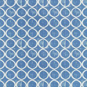 PBFC-3520-5 CIRCLES WALLPAPER Azure Lee Jofa Wallpaper