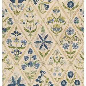 2010120-53 SUSANI TRELLIS Blue Green Lee Jofa Fabric