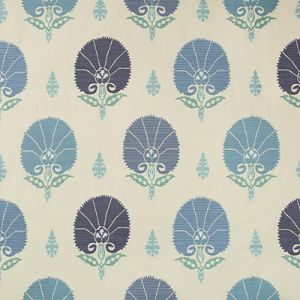 35078-15 FLORIANA Persian Blue Kravet Fabric