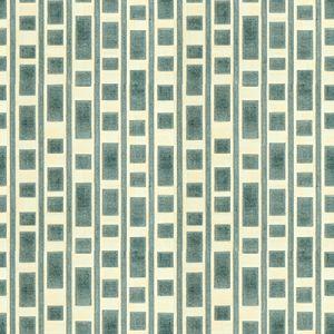 GWF-3514-13 RESOLUTION Aqua Groundworks Fabric