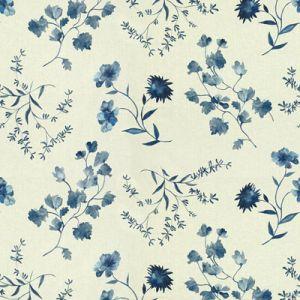 GWF-3515-515 FLOURISH Blues Groundworks Fabric