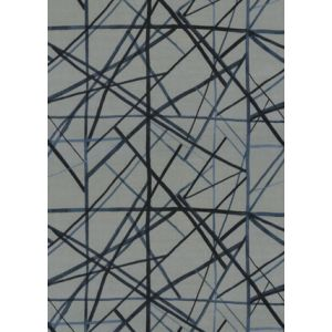 GWF-3731-155 CHANNELS VELVET Slate Blue Groundworks Fabric