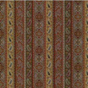 LCF22095F CHETTENHAM PAISLEY Red Sky Ralph Lauren Fabric