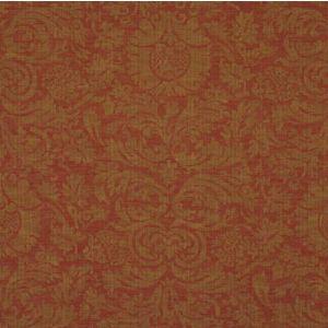 LCF50792F AUSTELL DAMASK Cinnabar Ralph Lauren Fabric