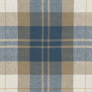 LCF65527F SUMMER COTTAGE PLAID Vintage Blue Ralph Lauren Fabric