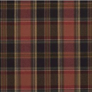 LFY61153F IAN PLAID Balmoral Red Ralph Lauren Fabric