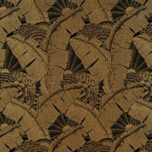 LFY64886F COCO DE MER Tarnished Gold Ralph Lauren Fabric