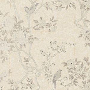 LWP60740W MARLOWE FLORAL Mother Of Pearl Ralph Lauren Wallpaper