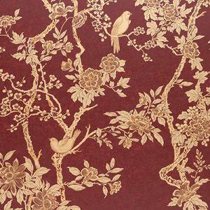 LWP65396W MARLOWE FLORAL Garnet Ralph Lauren Wallpaper