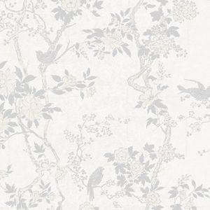 LWP65744W MARLOWE FLORAL Dove Ralph Lauren Wallpaper