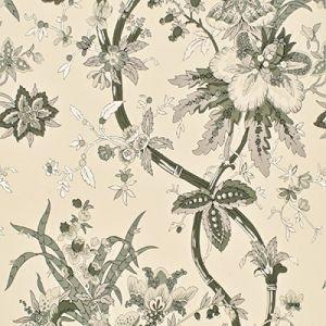 LWP68582W YARMOUTH FLORAL Pewter Ralph Lauren Wallpaper