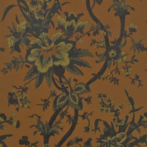 LWP68583W YARMOUTH FLORAL Tobacco Ralph Lauren Wallpaper