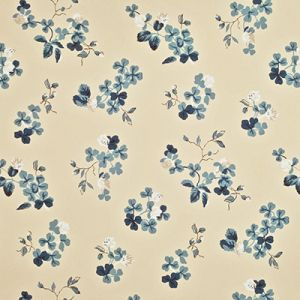 LWP68584W TREFOIL FLORAL Slate Ralph Lauren Wallpaper