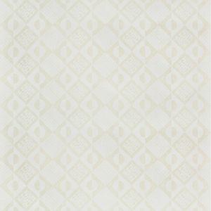PBFC-3519-1 CIRCLES AND SQUARES WP Off White Lee Jofa Wallpaper