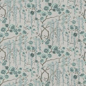 PEONYTREE-511 Aquamarine Kravet Fabric