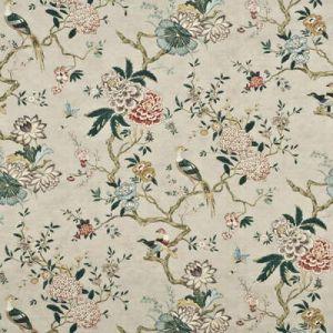Oriental Bird Rose Grey Gp J Baker