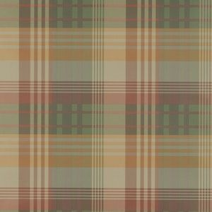 FG079-T30 MULBERRY ANCIENT TARTAN Spice Mulberry Home Wallpaper