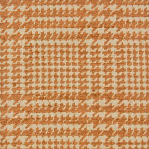 HOUNDSTOOTH 1 Ginger Stout Fabric
