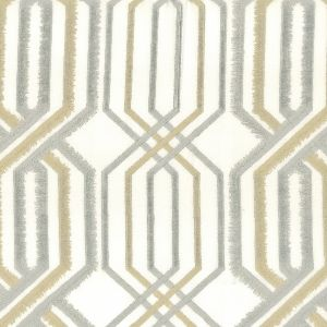 PEKING 1 Silver Stout Fabric